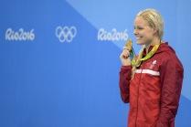 Medalha de Ouro nos 50m livres – Pernille Blume (DEN)