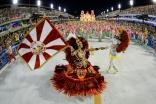 Alegria da Zona Sul durante o primeiro dia de Desfiles das escolas de samba do Grupo de Acesso na Marquês de Sapucaí no Rio Janeiro,RJ.