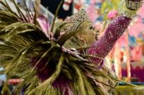 Viradouro durante o primeiro dia de Desfiles das escolas de samba do Grupo de Acesso na Marquês de Sapucaí no Rio Janeiro,RJ.