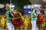 Acadêmicos do Cubango durante o segundo dia de Desfiles das escolas de samba do Grupo de Acesso na Marquês de Sapucaí no Rio Janeiro,RJ. Comissão de Frente