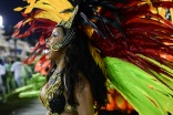 Império Serrano durante o segundo dia de Desfiles das escolas de samba do Grupo de Acesso na Marquês de Sapucaí no Rio Janeiro,RJ.