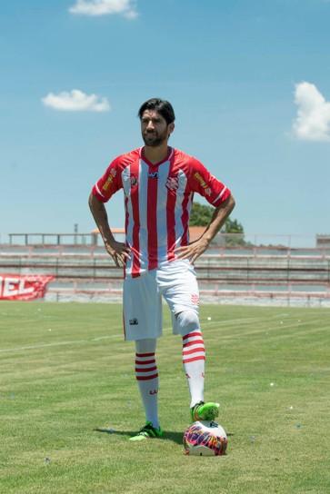 Apresentação do atacante Loco Abreu pelo Bangu Atlético Clube realizado na manhã desta terça-feira (27), em Moça Bonita, no Rio de Janeiro, RJ.