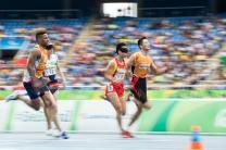 Paraolimpiadas 100m rasos T11